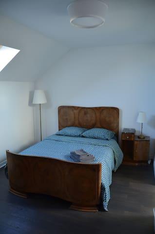 Chambre moderne dans une maison à 20 min de Dijon