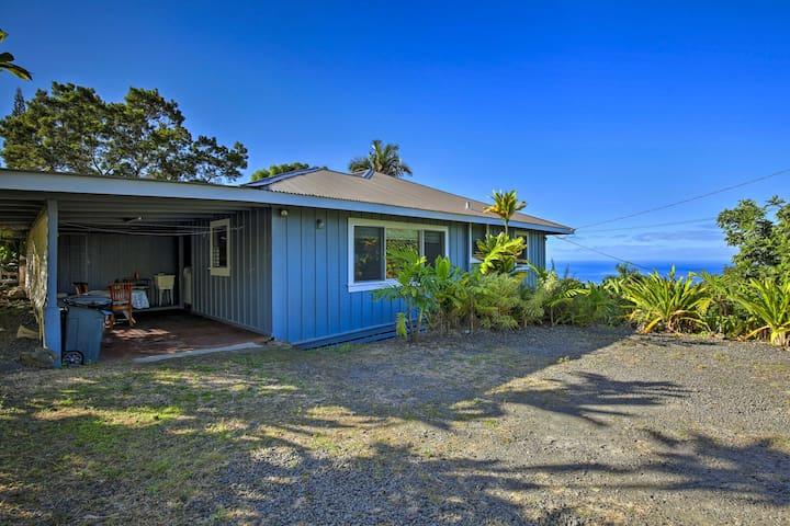 'Holualoa Hale' Home w/Ocean Views - 5 Mi to Kona!