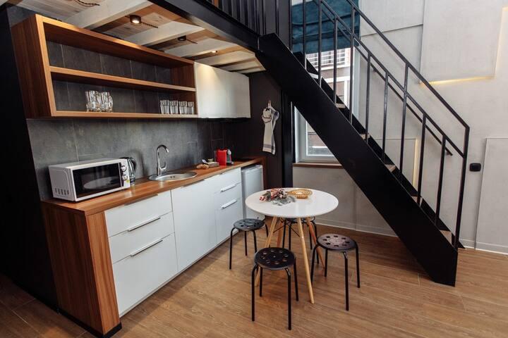 Двухуровневые апартаменты MIO