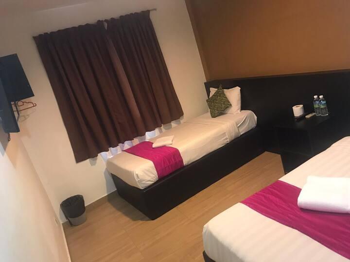 Sindbad hotel twin room