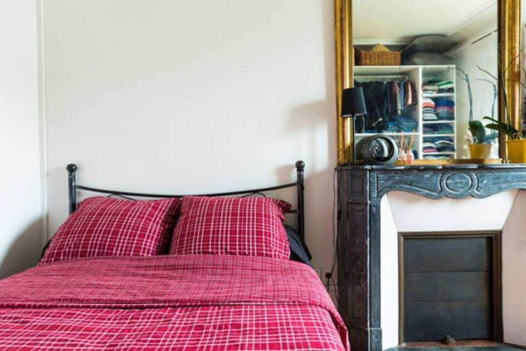 la chambre (lit 140*190)