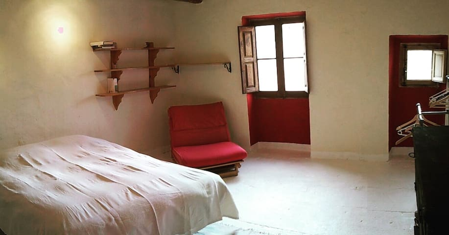 The Ruin, double rooms near Margalef - La Bisbal de Falset - Talo