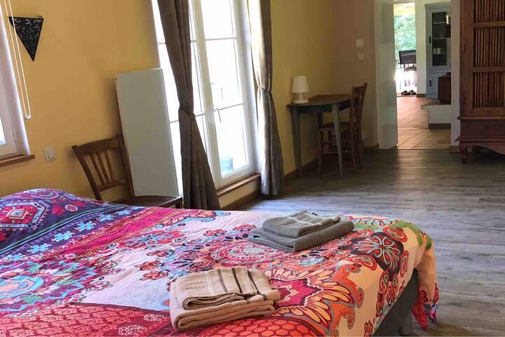 Maison indépendante pour voyageur pro sur nord IDF