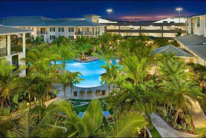Luxury resort style apartment