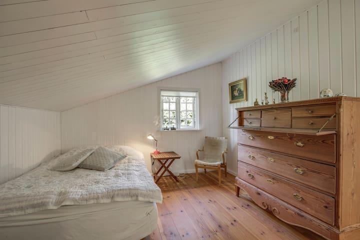 Værelse med 2 sovepladser (1½ mands seng)