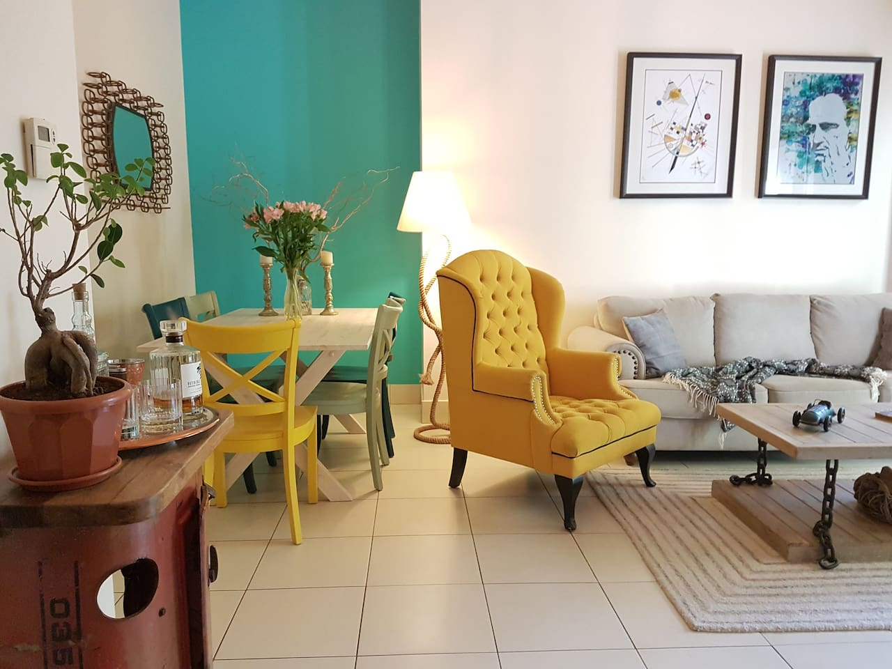 Charming and trendy garden apartment in the heart of Downtown Dubai