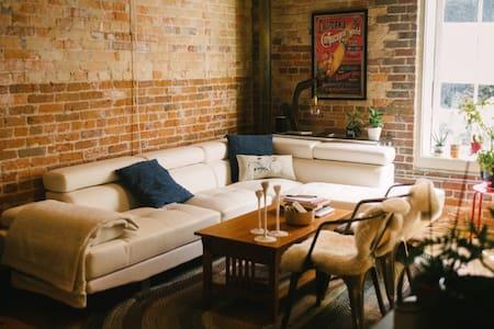 Loft apartment in Downtown Durham - Durham - Huoneisto