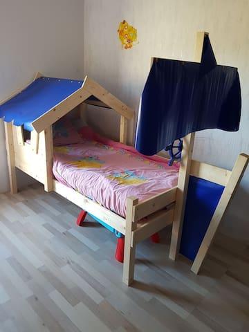 Chambre enfant au calme