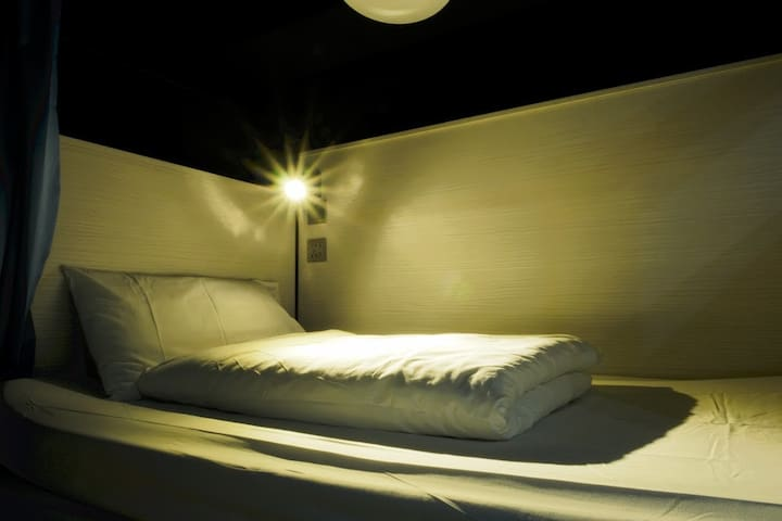 1 Single Bed in 10-pax Mixed Dormitory