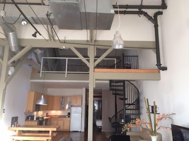 NY Style Tech Loft (next to Levis) - Santa Clara - Loft