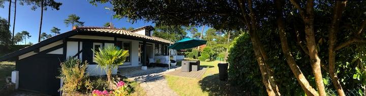 Villa entre plage des Estagnots et lac d'Hossegor