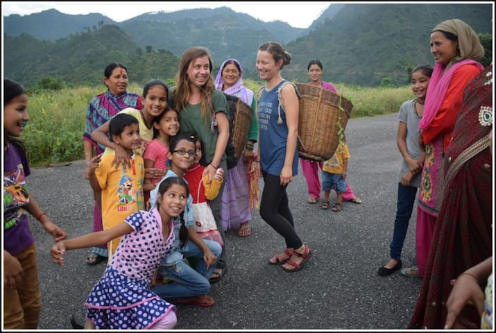 meeting with local women
