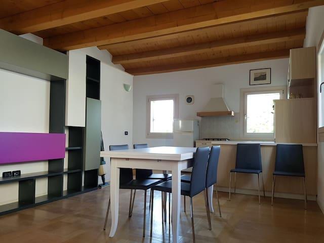 Accogliente casa - Bolzano Vicentino - Hus