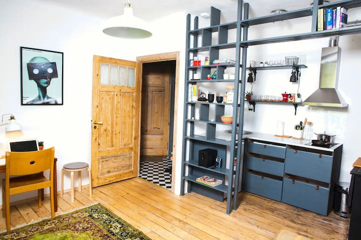 Bohemian Charm • 1km to Old Town• Entire Apartment