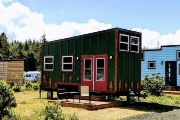 Evergreen - our tiny home with a jetted tub!