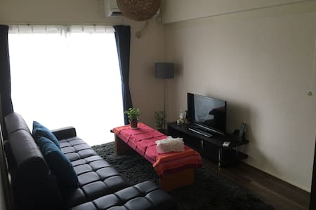 2Bed rooms / Pocket Wi-fi / 1min from bus stop - 横浜市 - Apartamento