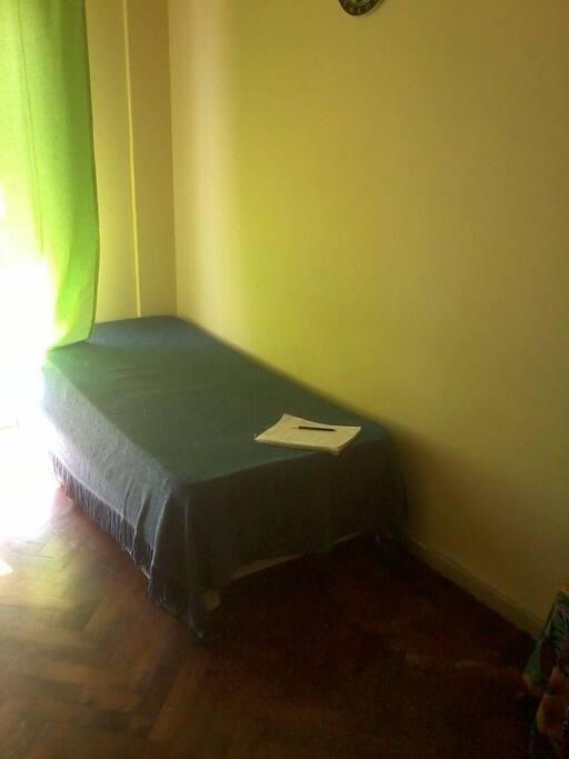 la cama que usaria yo en caso de alquilarla