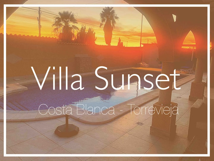 Villa Sunset - a paradise at the salt-lakes 🦩🦩