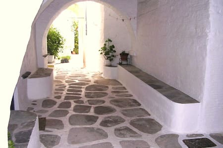Traditional refined house,Old Town next to the sea - Paros