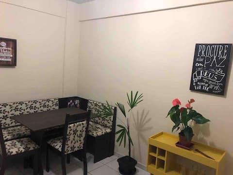 Flat em condomínio fechado na Ilha dos Araújos