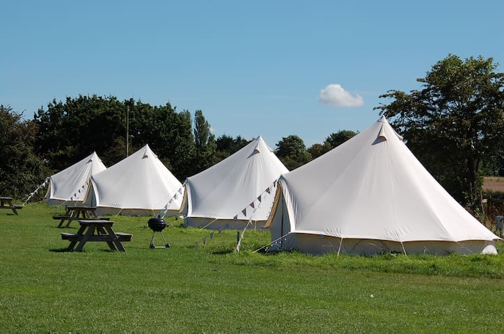 Mousley House Farm Campsite and Glamping BT9