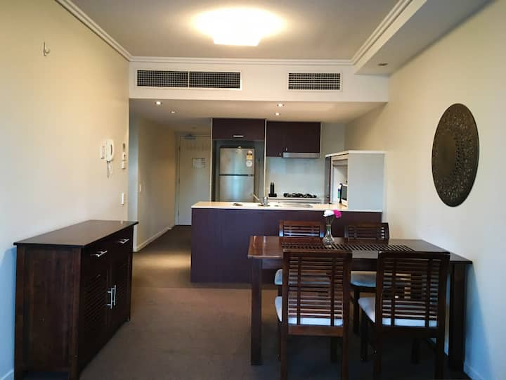 comfortable apartment in Fortitude Valley