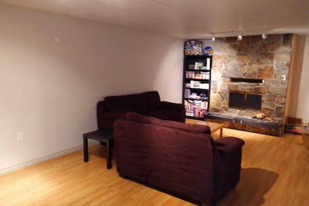 Private basement w/ bed, bath, etc - Sherwood Park