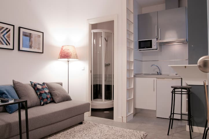 Confortable and independent room