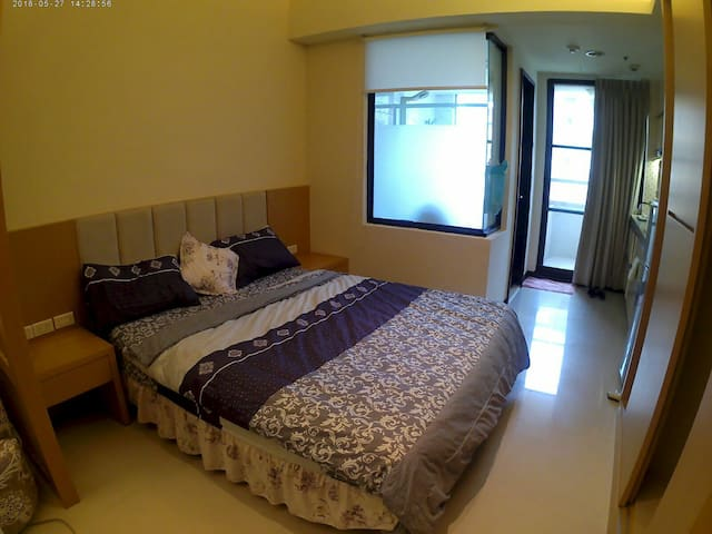 Tamsui - Mike's vacation Suite( WIFI/GYM/kitchen)