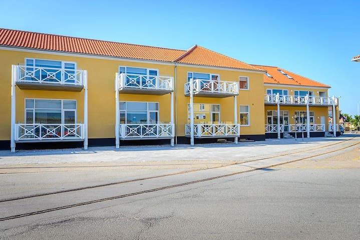 4 pers. lejlighed i Skagen - på bedste beliggenhed