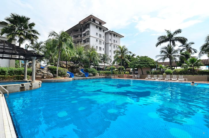 Apartment in Melaka Raya - Historical City - Melaka - Huoneisto