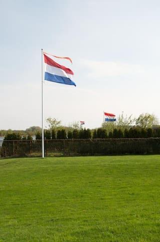 Water villa aan Borgmeren Harkstede ! Pieterpad !
