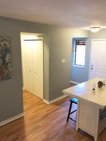 Front Door/Laundry Room