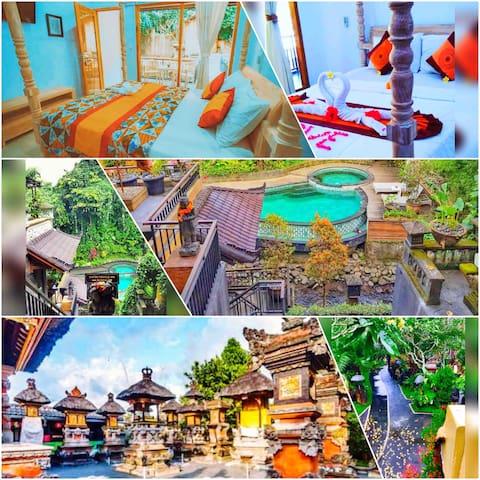 Tukad Mas Balinese Style Home in Ubud #DeluxeRoom