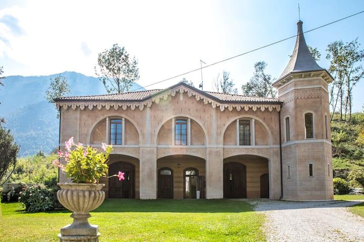 Casa Guarnieri-Alloggio 1880 con vista panoramica