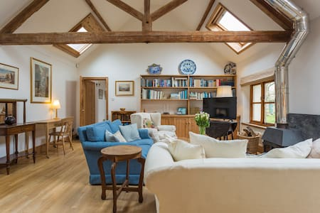 Peaceful barn conversion in rural location.