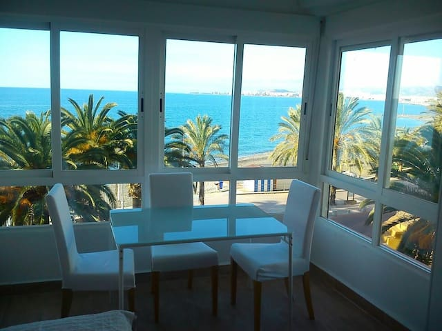 Estudio frontal al mar, sol y playa - Algarrobo - Apartment
