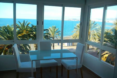 Estudio frontal al mar, sol y playa - Algarrobo - Pis