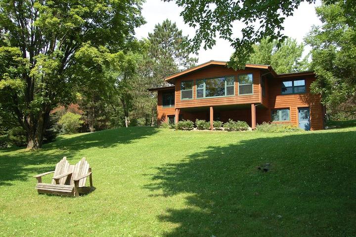 Ruffed Grouse Lodge on Wilson Lake