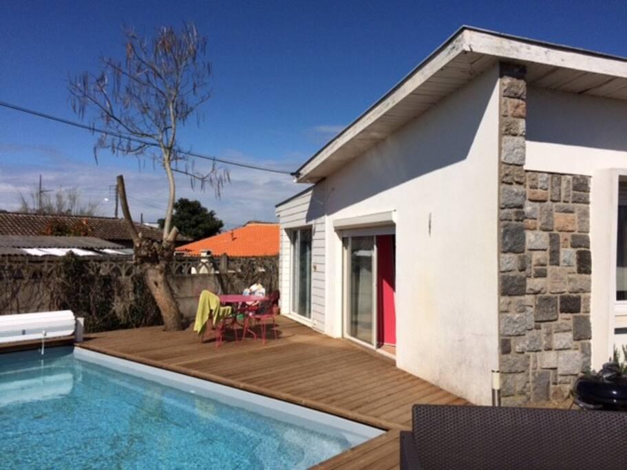 Maison 3 chambres jardin piscine houses for rent in for Piscine pessac