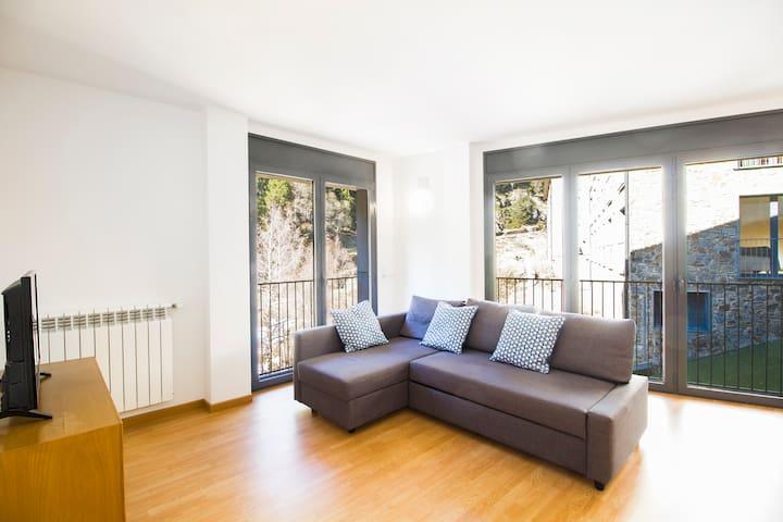Apartamento moderno de 1 dormitorio. FF1