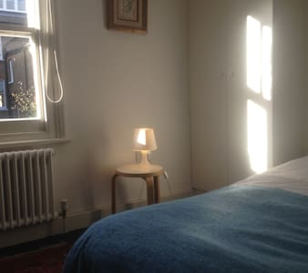 Our guest room is just right if you are looking to stay in a quiet friendly family house with sole use of an immediately adjacent bathroom, great transport connections and a location right next to Hampstead Heath.
