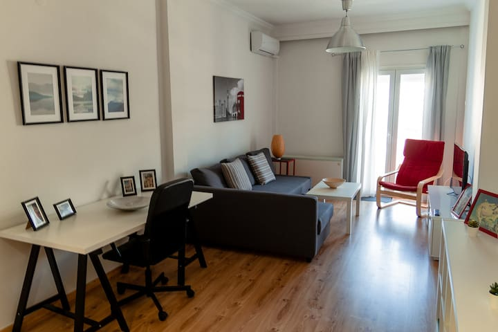 Spacious-renovated appartment close to city center
