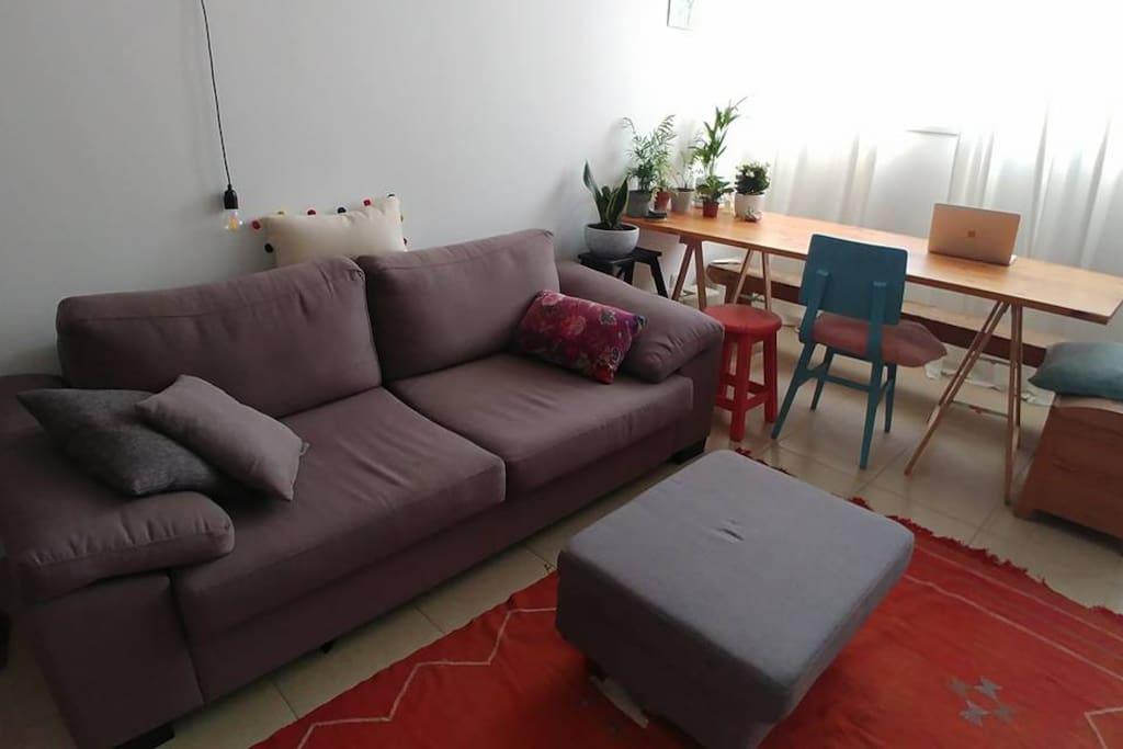 Very comfy sofa.