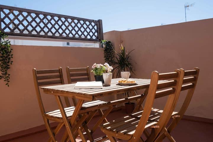 Penthouse in the heart of Cadiz - Santa María