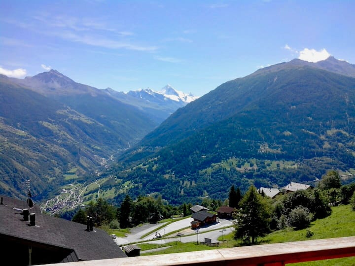 Thyon 4 Vallées - 3 room flat with balcony