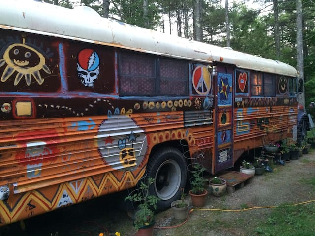 "HIPPIE BUS your ""ride"" to GROOVY times"