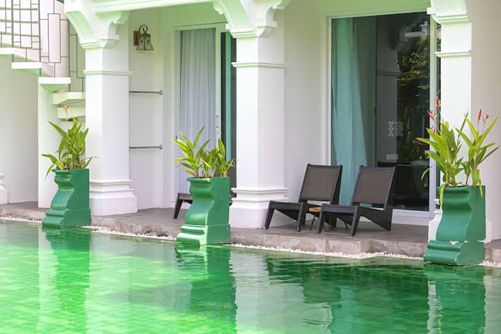 Spacious pool access villa in Phuket Old Town