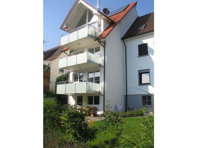Cosy Holiday Apartment with Wi-Fi, Balcony, Garden and Patio; Parking Available