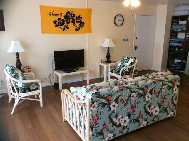 Brand new 2br family-style condo near Makaha Beach - Waianae - Condominium